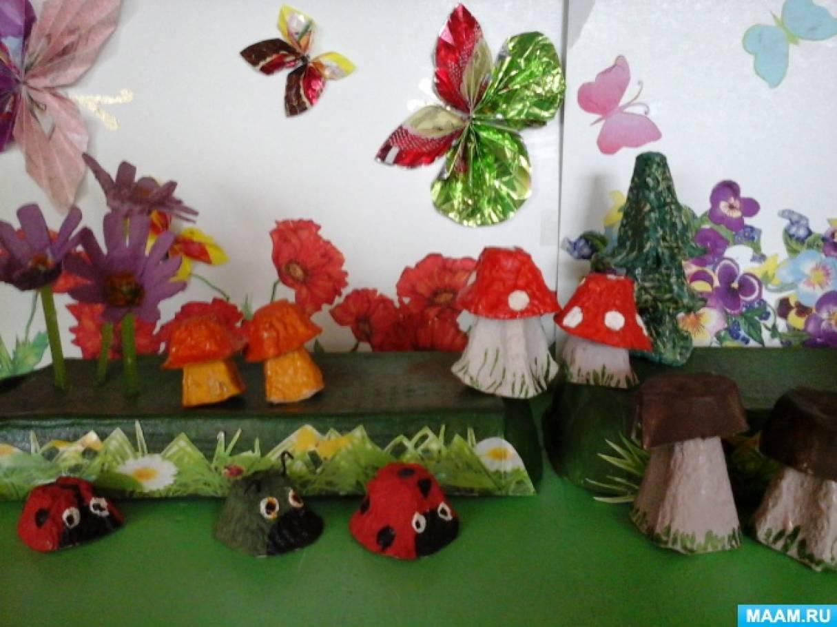 Летняя поделка в детский сад фото 66