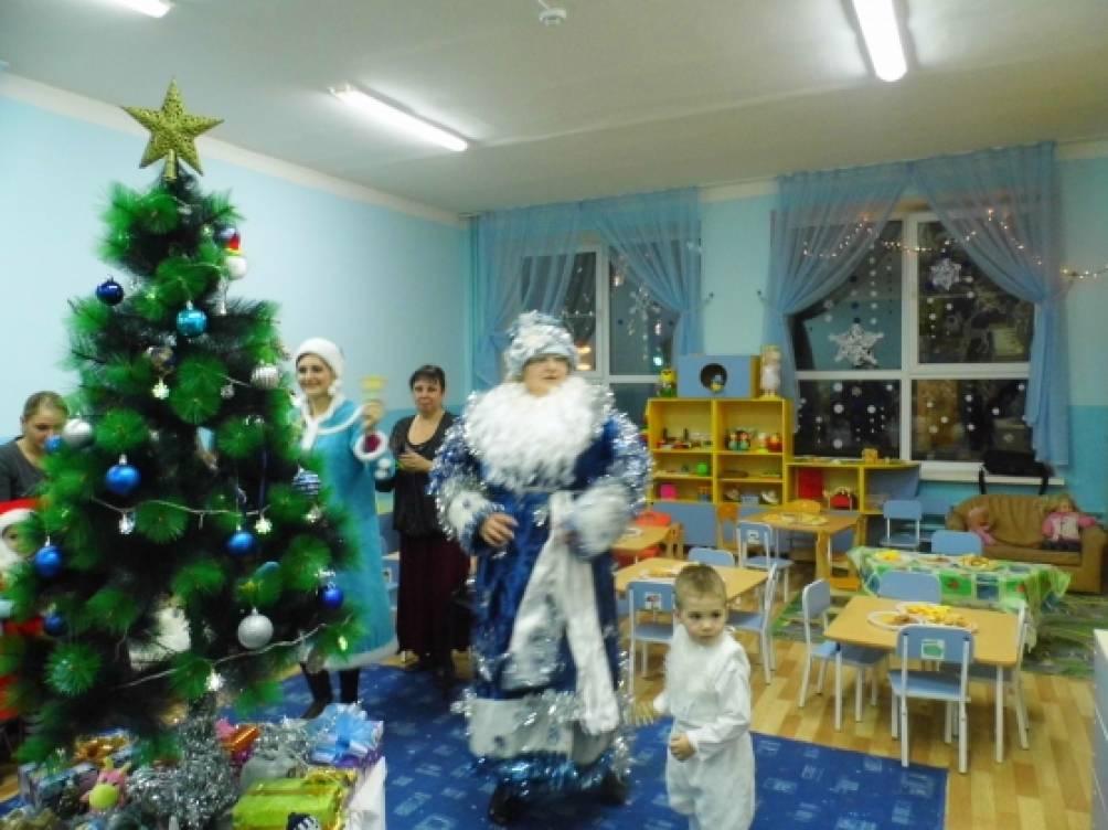 сценарий на новый год сказка для детей в детском саду