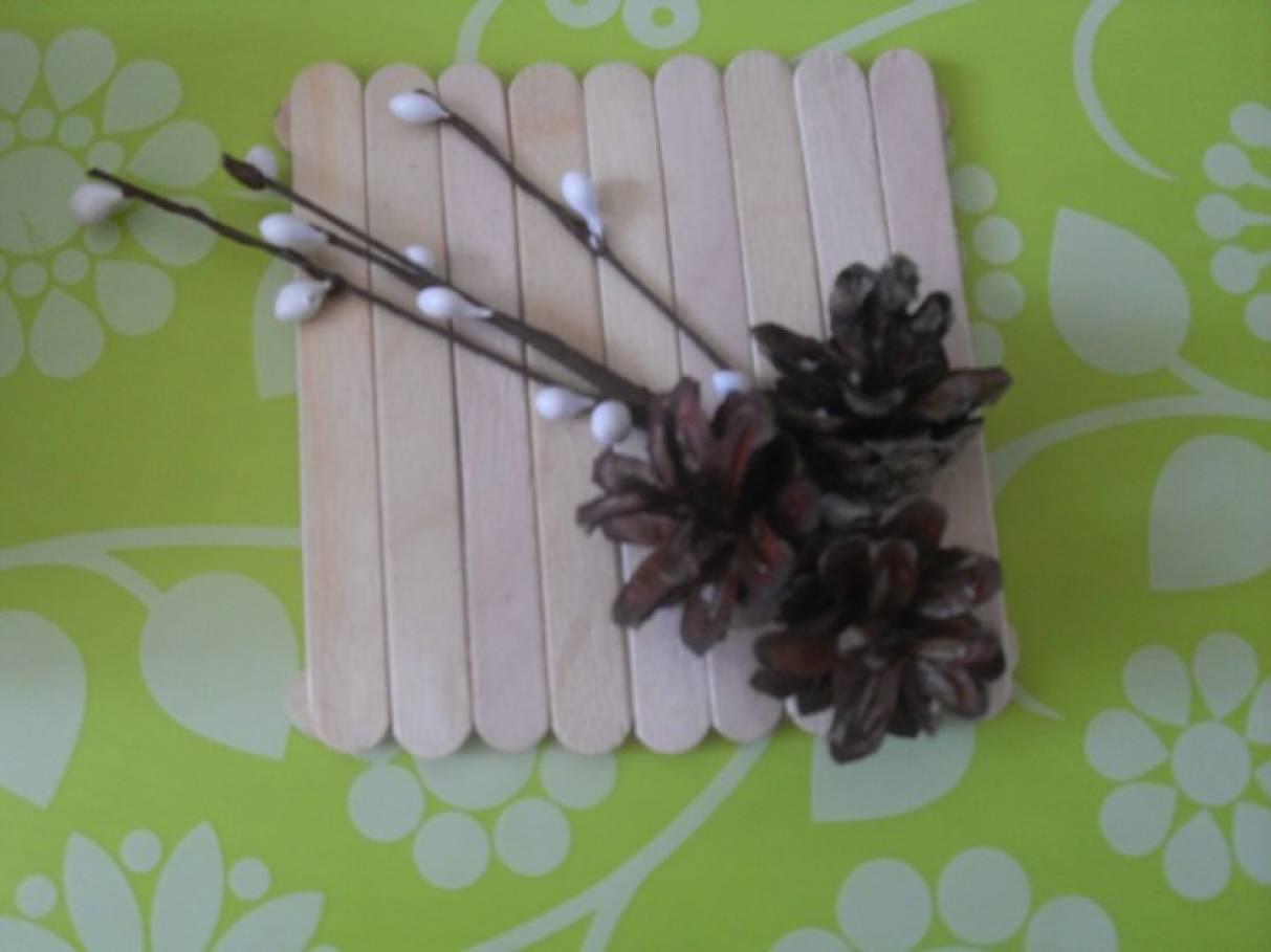 Шкатулки своими руками из палочек для мороженого своими руками 26