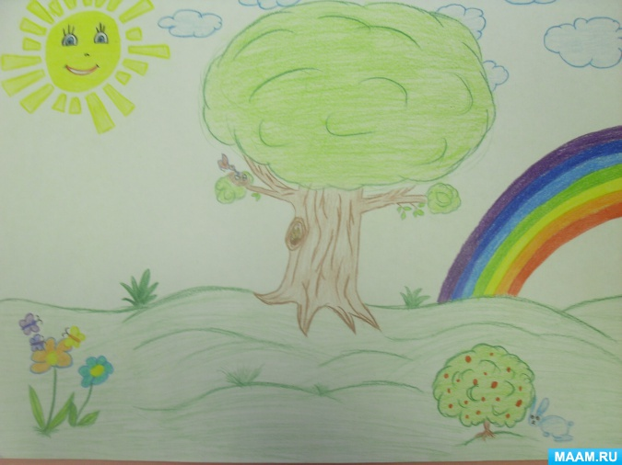 Рисунки на конкурс зелёная планета
