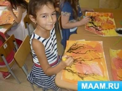 Развитие у детей стойкого интереса к изобразительной деятельности с помощью нетрадиционных техник рисования (кляксография)