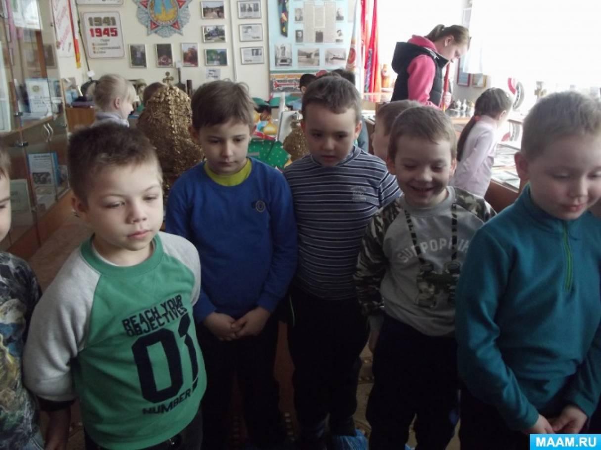 Экскурсия в мини-музей. Поселок Горшково. Экскурсии для дошкольников, фотоотчеты из музея