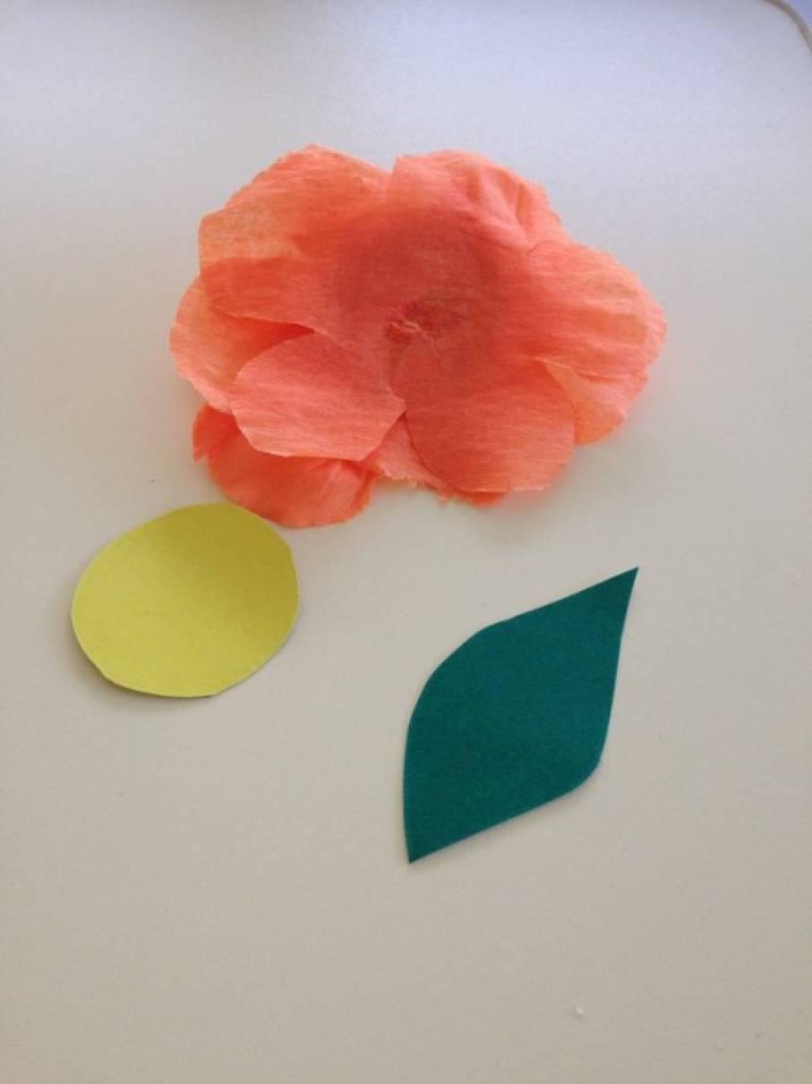 Цветочки из бумаги схемы