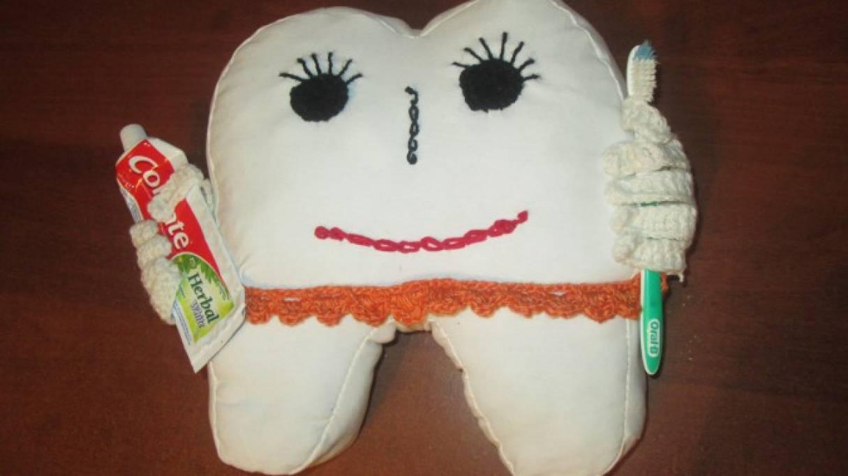 Мастер-класс «Здоровый зуб» для использования на занятиях по валеологии в детском саду