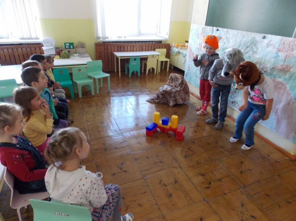 Сценарий башкирской народной сказки «Лиса-плотник».