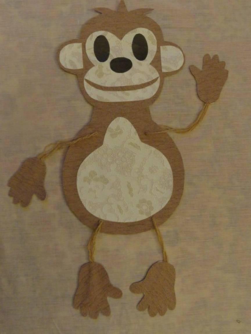Мастер-класс «Символ года— озорная обезьянка Анфиска»