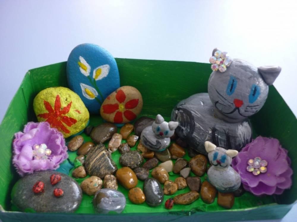знакомство с камнями в старшей группе детсада