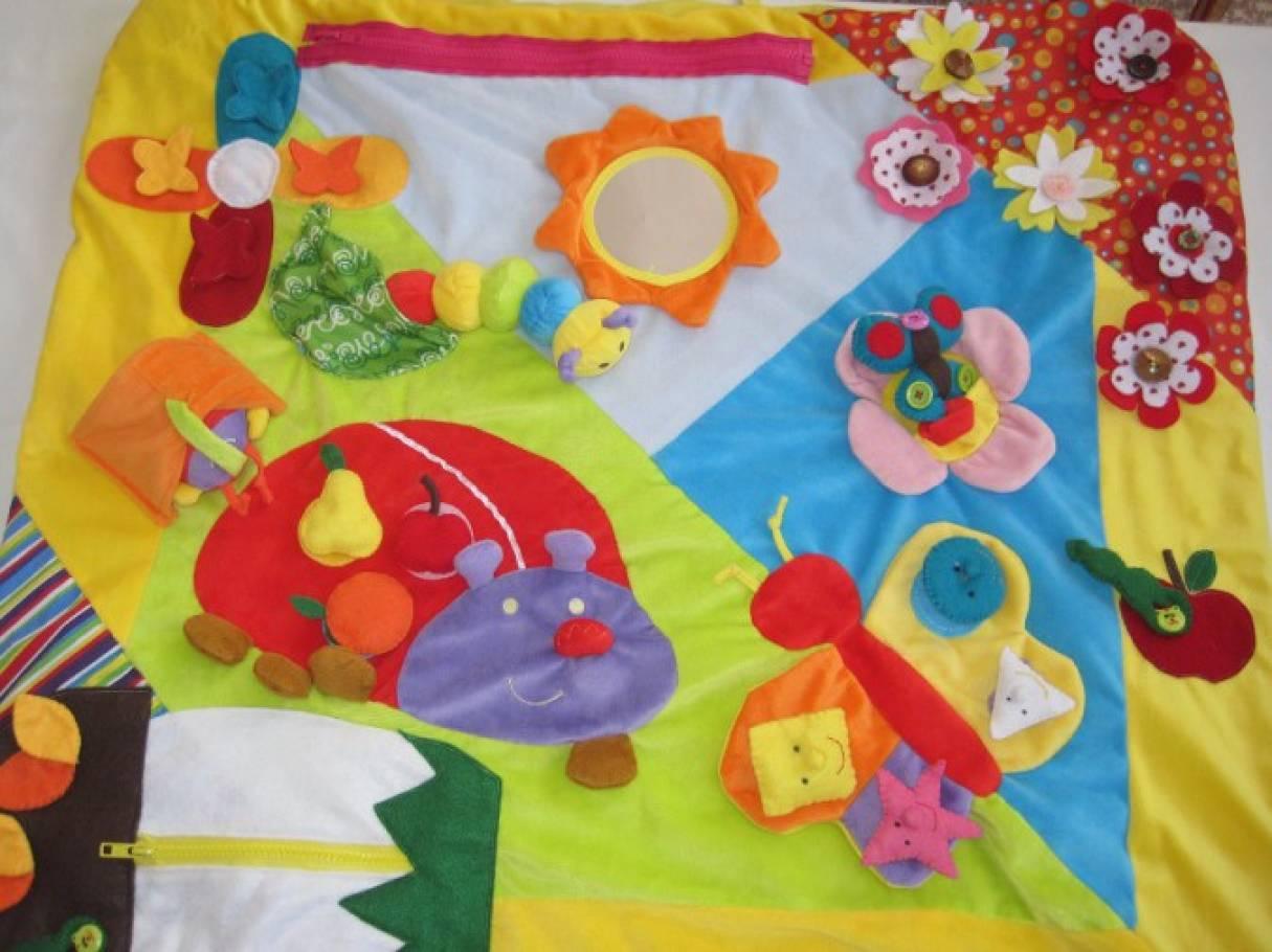 Развивающий коврик для детей своими руками фото 465
