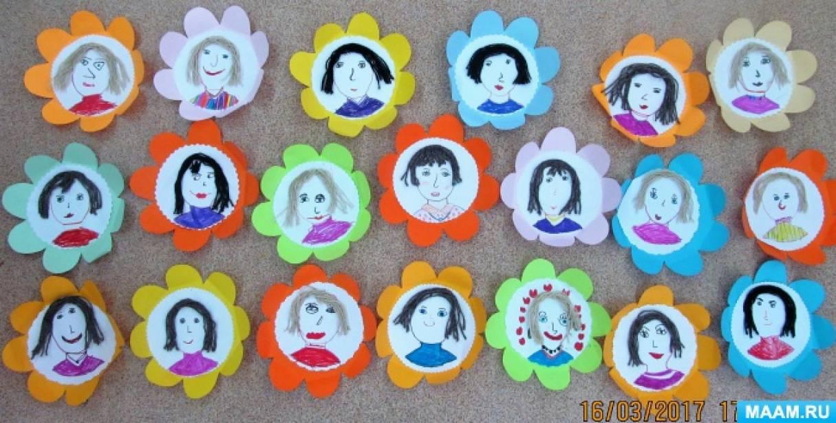 Портреты «Мамочки-цветочки»