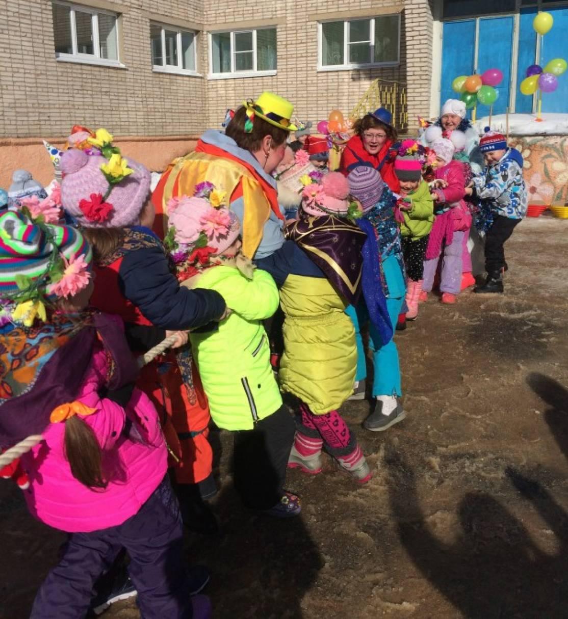 Сценарий для детей на свежем воздухе