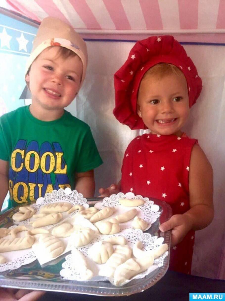 знакомство с работой повара в детском саду