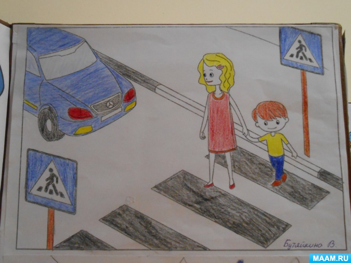 рисунок на обж правила дорожного движения механизм переключения полозьев