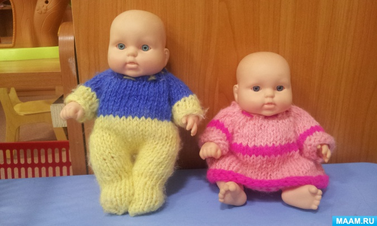 Мастер-класс по вязанию одежды для кукол