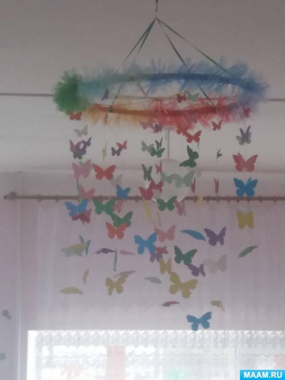 Мастер-класс «Подвесной модуль «Бабочки»