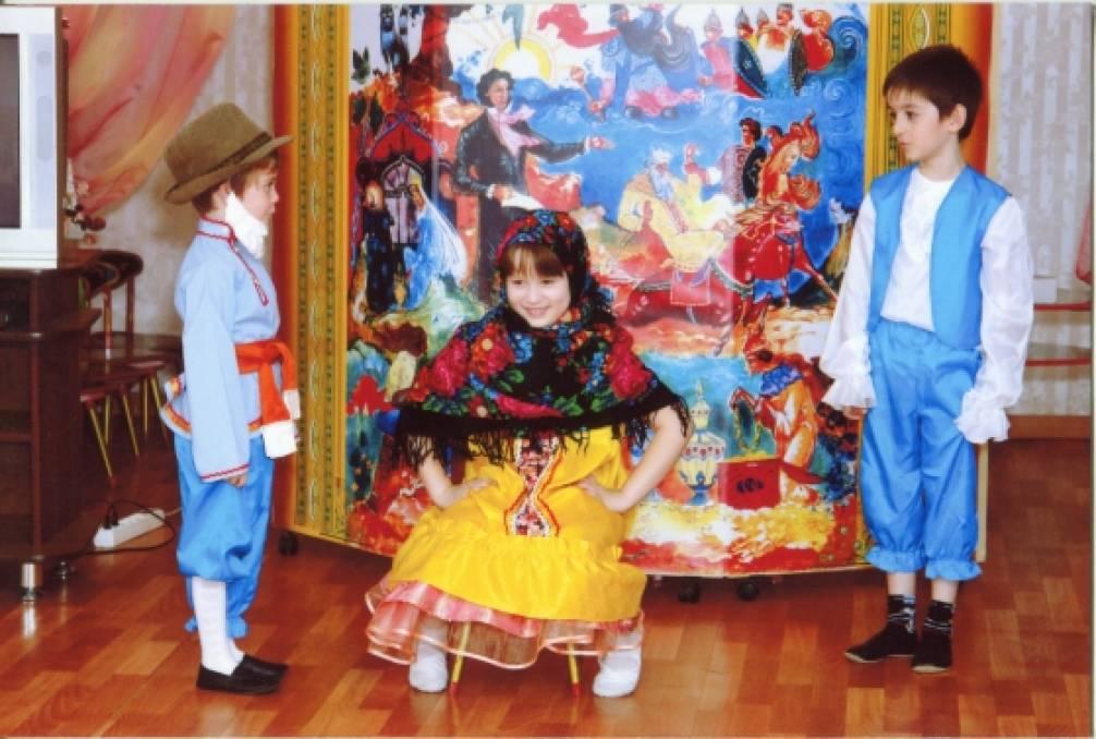 Сценарий праздника, посвященного творчеству А. С. Пушкина «У Лукоморья» (Подготовительная группа»)