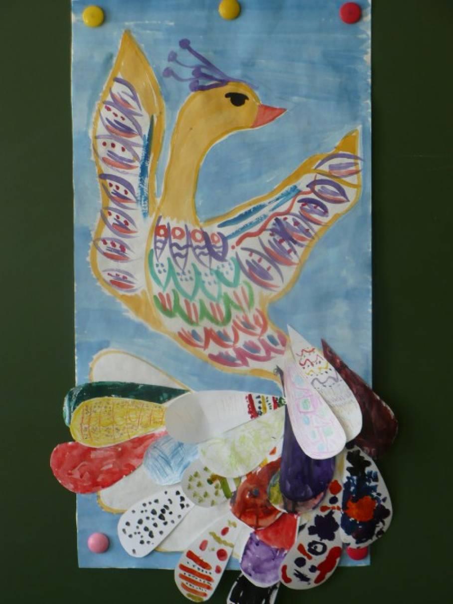 Мастер класс по рисованию в средней группе по теме птицы
