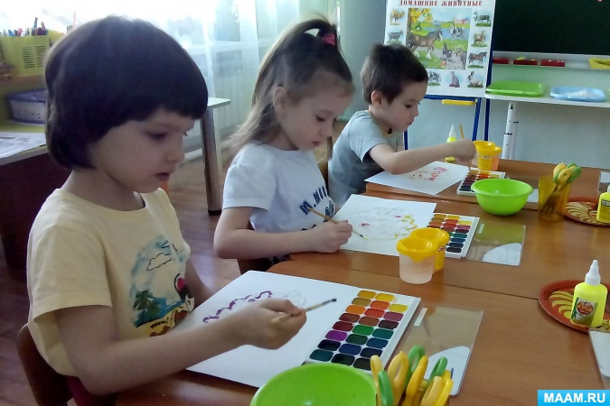 Использование нетрадиционной техники рисования солью в работе с дошкольниками, имеющими нарушения речи