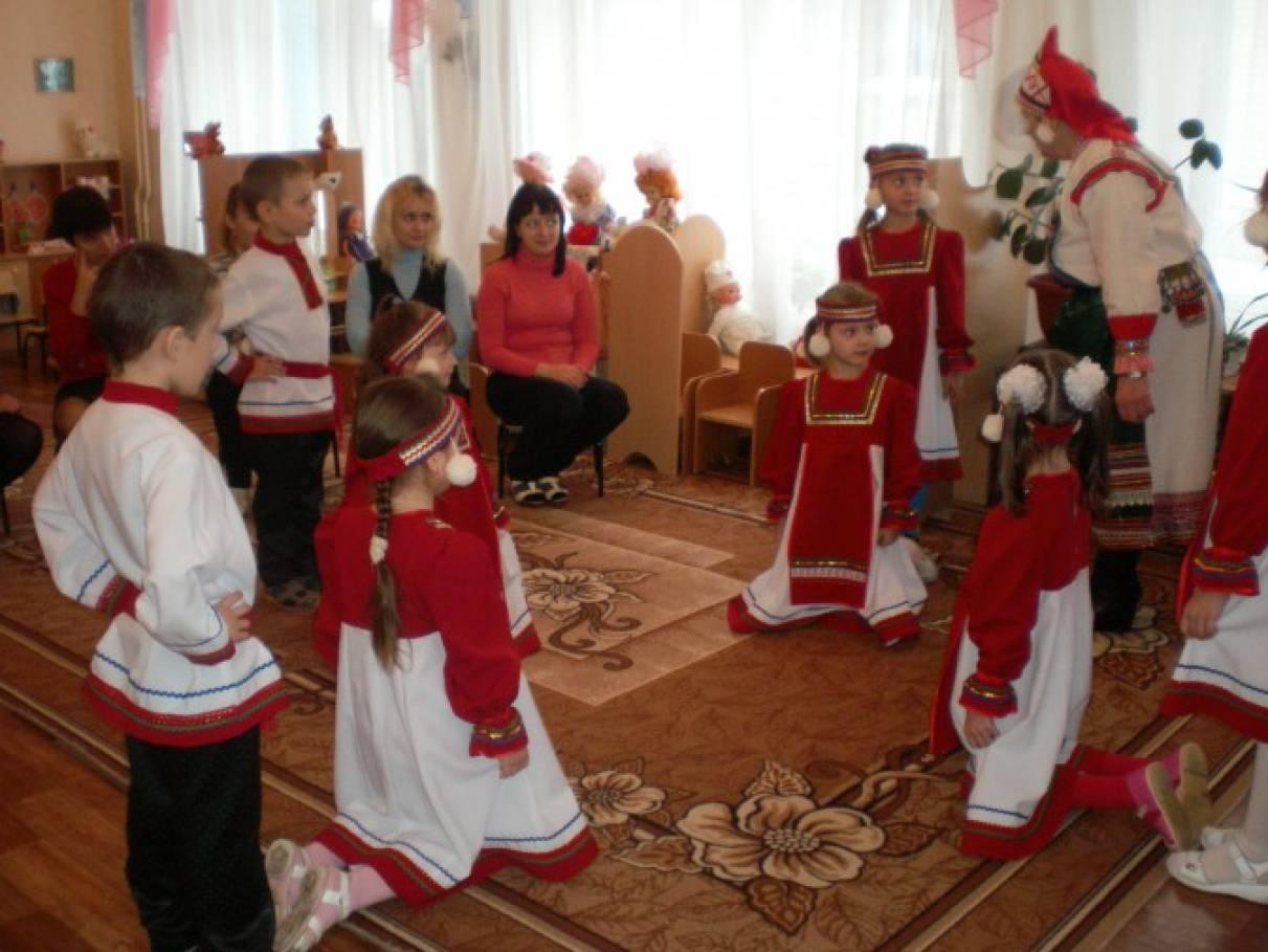 знакомство дошкольников с русским искусством