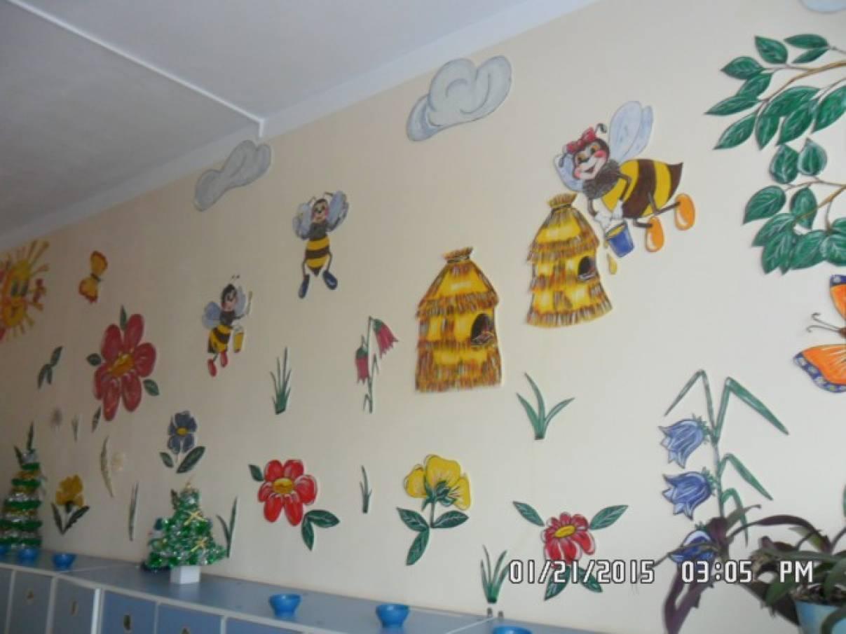 Как своими руками украсить стены в детском саду своими руками фото 46