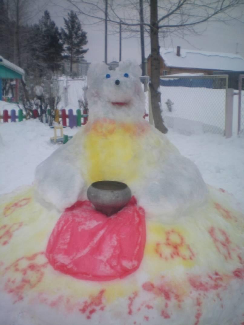 Зимняя сказка на участке