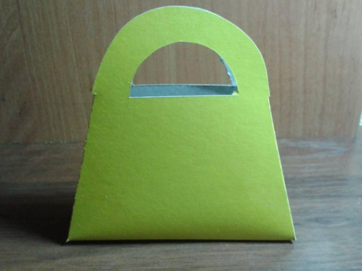 Поделка из бумаги сумочка 10