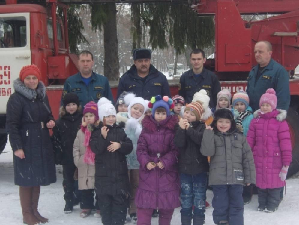 знакомство с профессией пожарного в подготовительной группе