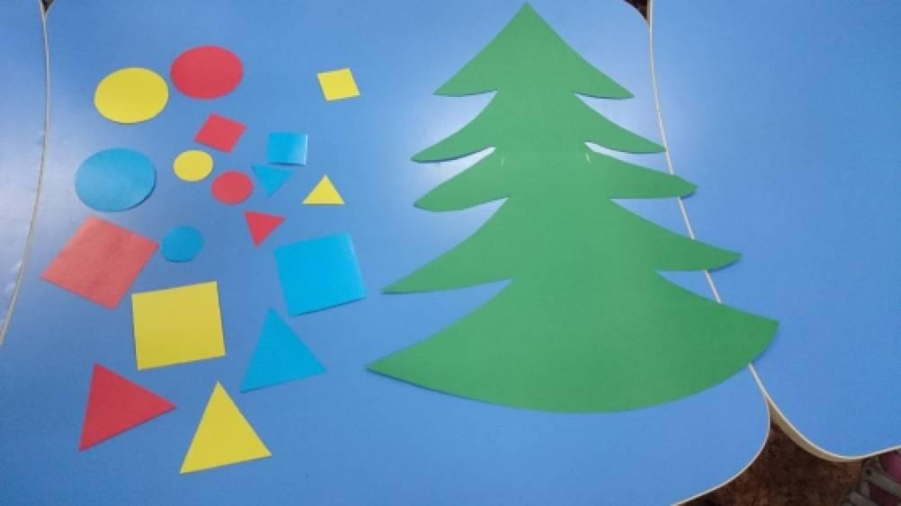 Дидактическая игра «Наряжаем елку»