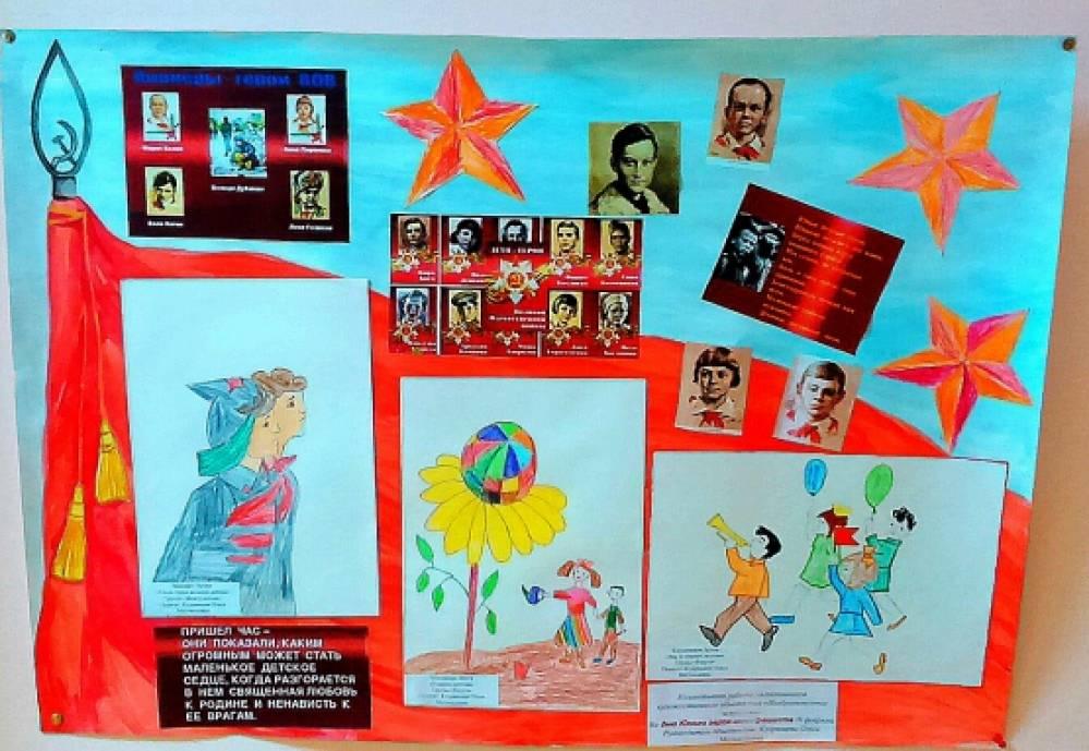 оформление стенгазеты день героев отечества