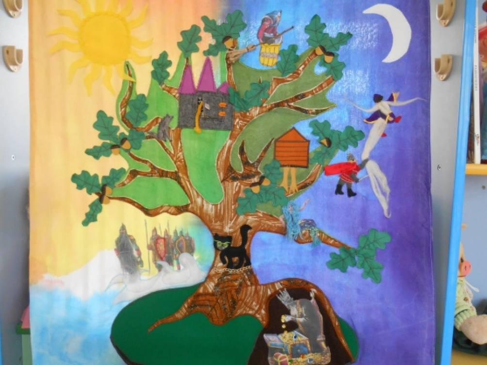 У Лукоморья дуб зеленый. Воспитателям детских садов ...