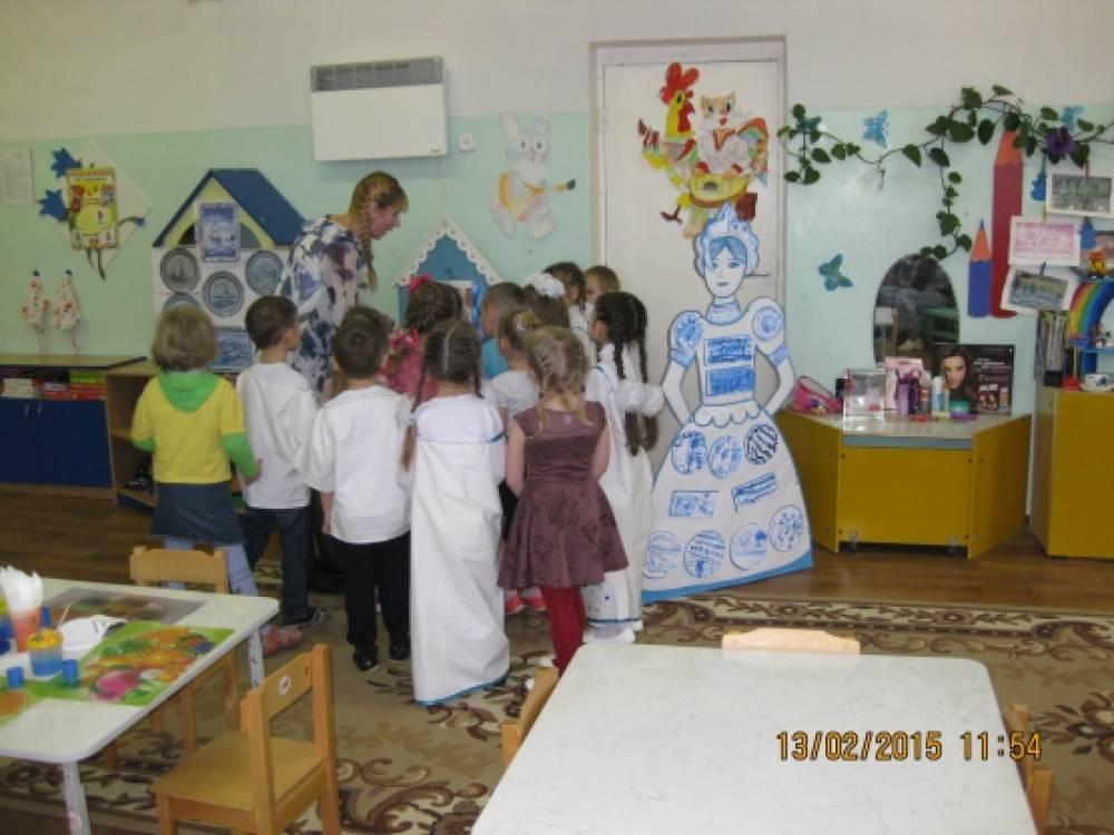 занятие по знакомству детей с искусством