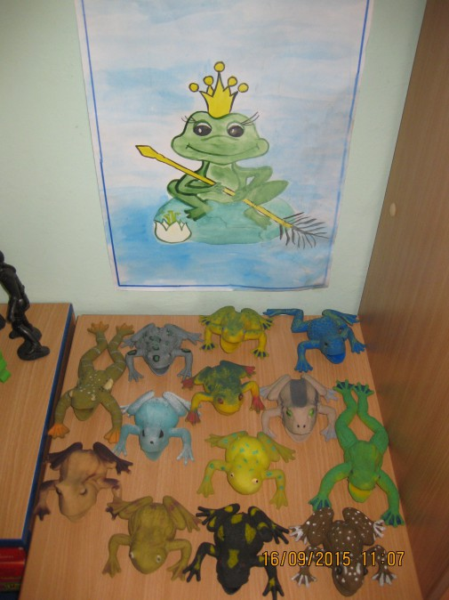 Оригами «Лягушка». Работы детей подготовительной к школе группы