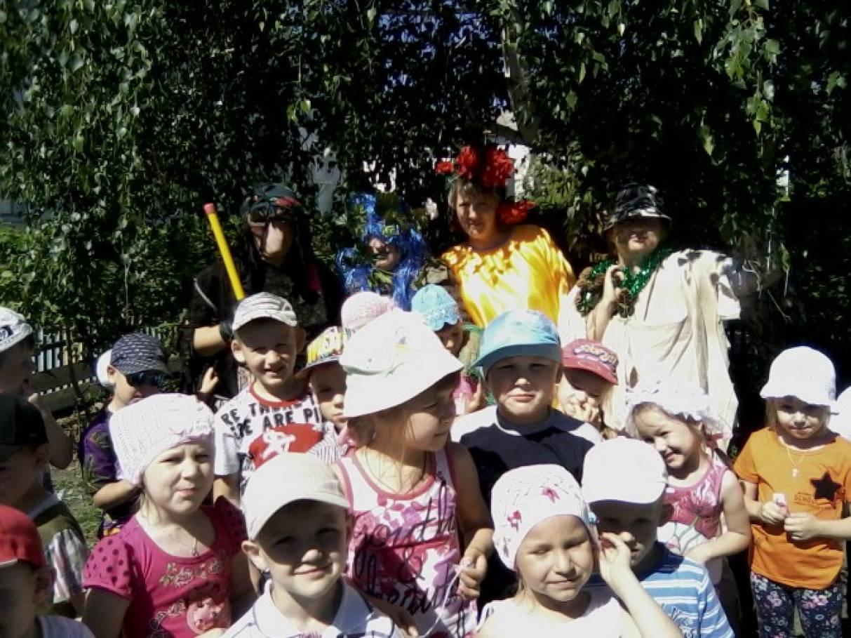 Фотоотчет «Чуть утро начинается, спешим мы в детский сад!»