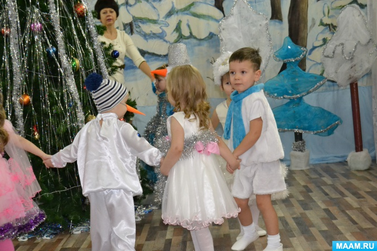 Сценарий новогоднего праздника «Наша ёлочка» во второй младшей группе