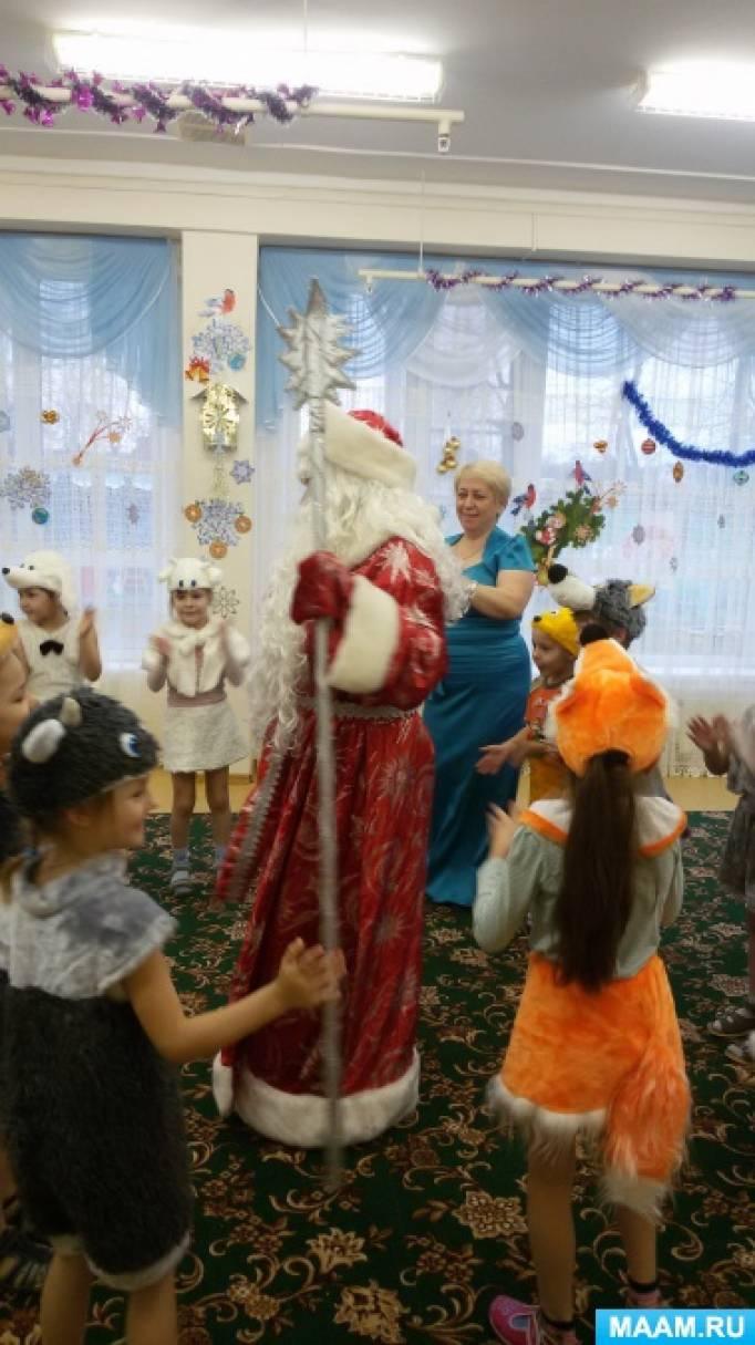 Сценарии на утренник нового года в детском саду