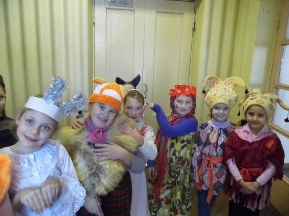 Праздник «Масленица» для учащихся 1–4