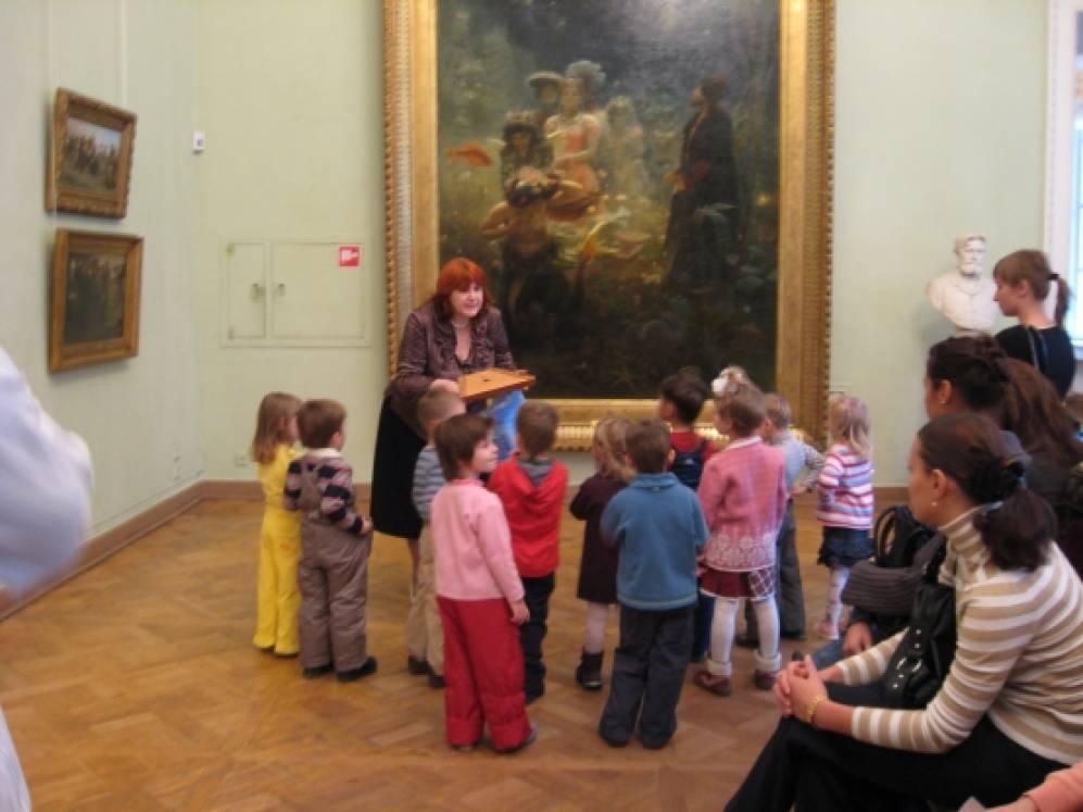 знакомство детей с архитектурой новокузнецка