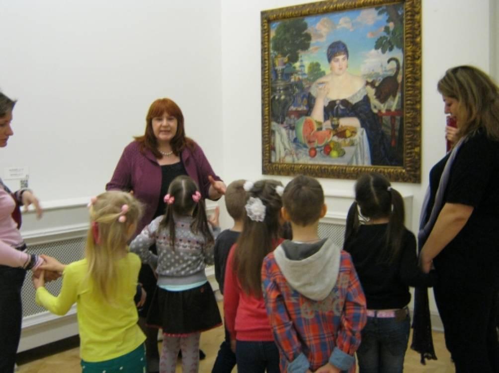 знакомство с живописью дети