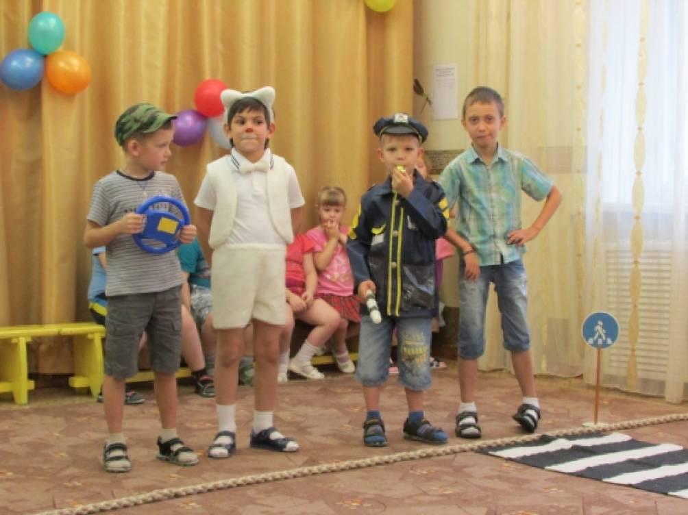 Сценка по пдд для детей дошкольного возраста