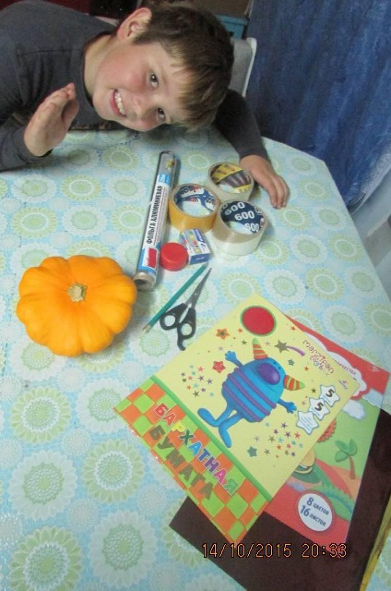 Мастер-класс по изготовлению поделок из овощей «Барыня и НЛО»