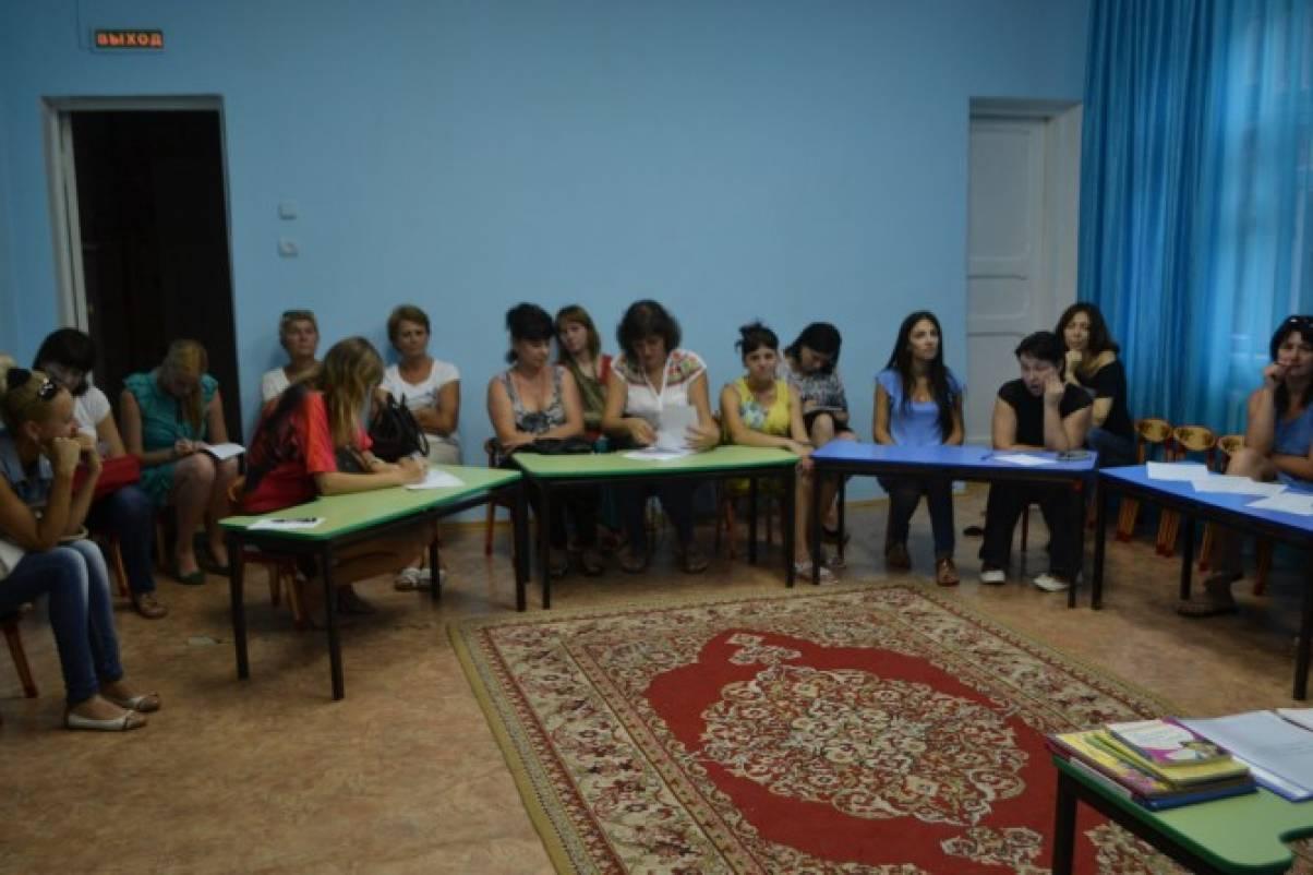 Сценарий родительского собрания в подготовительной группе начало года