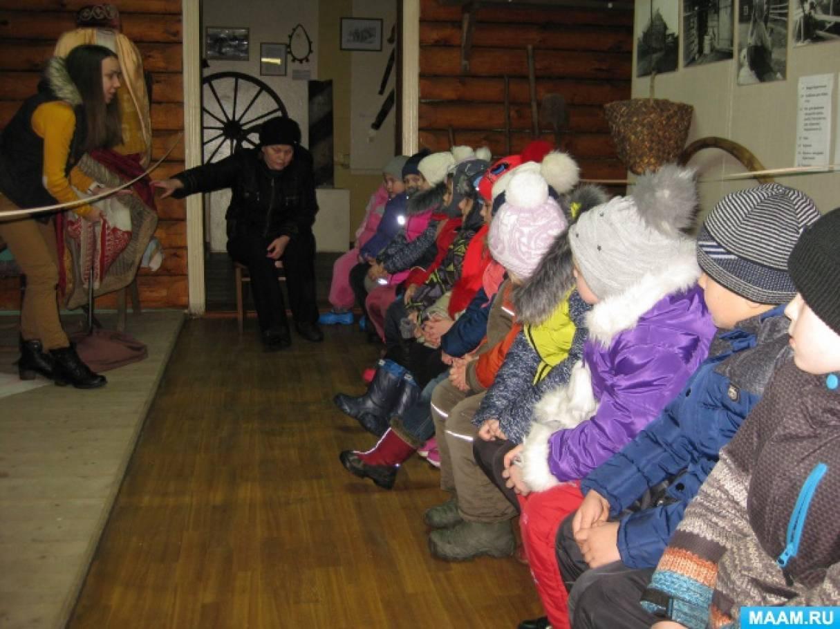 Экскурсия в Пудожский историко-краеведческий музей (фотоотчет)