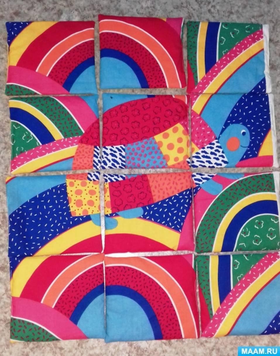 Дидактическая игра «Мягкие напольные разрезные картинки» Черепашка « (многофункциональные) …»