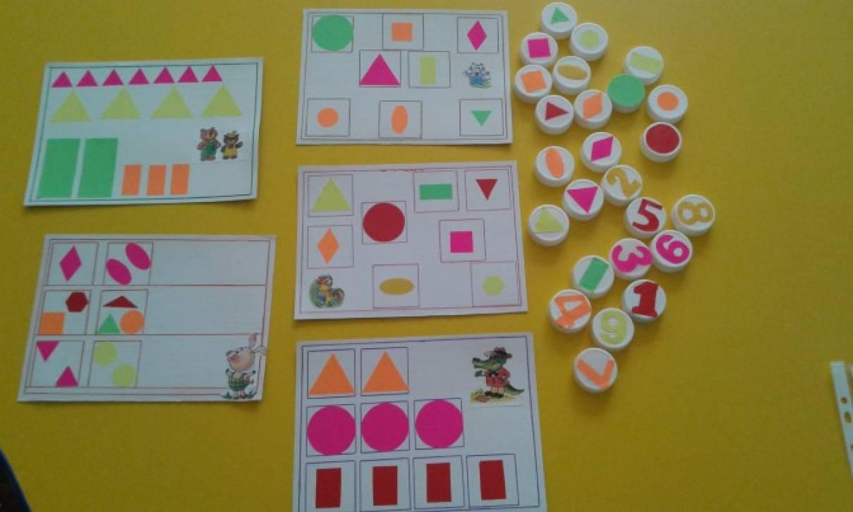 Дидактические картинки по математике для дошкольников 9