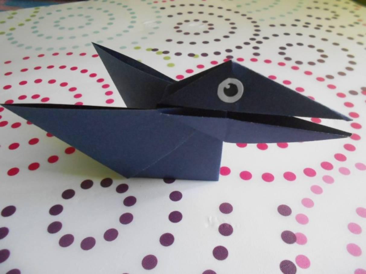 Как сделать ворону-говорушку