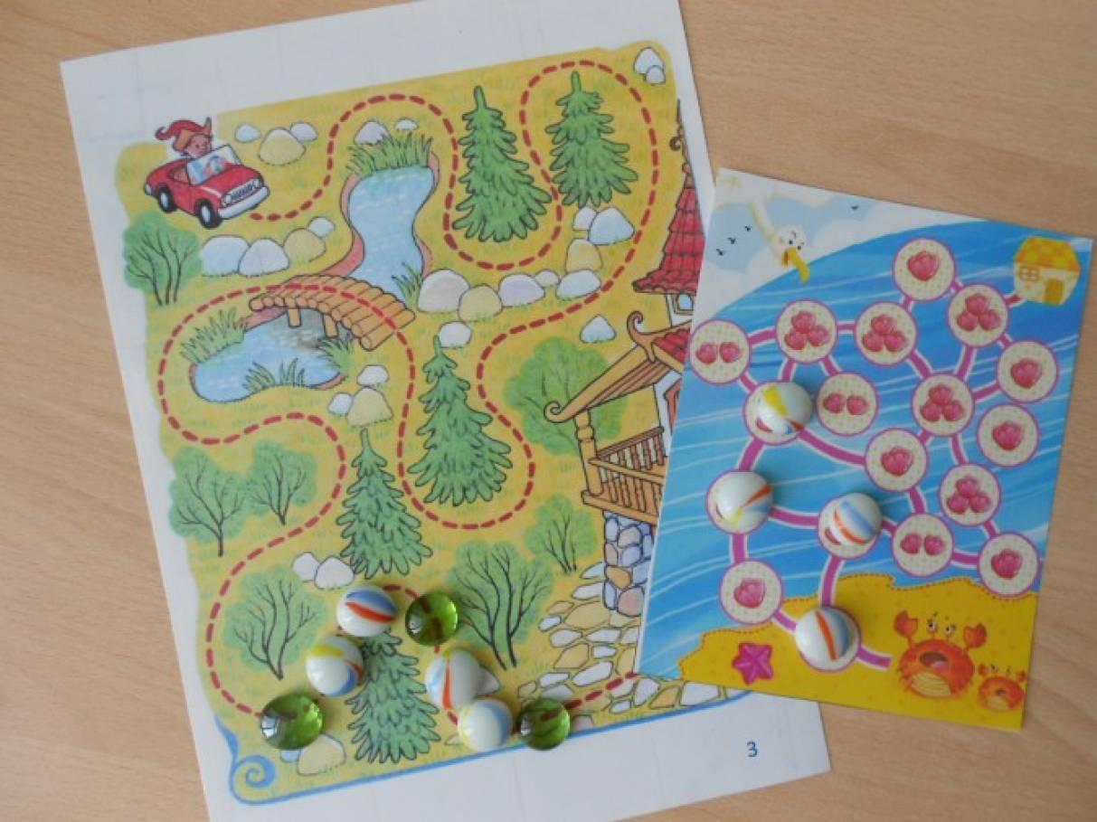 Игры с мелкими предметами в логопедической работе