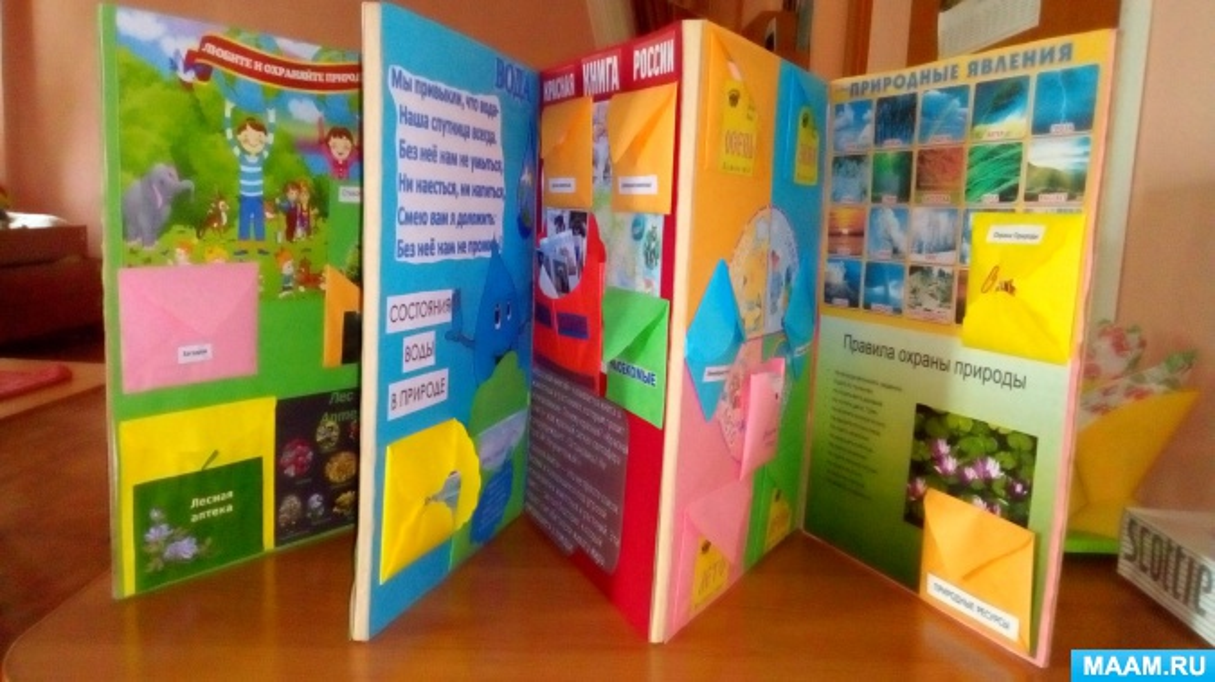 Лэпбук как современное средство обучения экологической грамотности детей дошкольного возраста