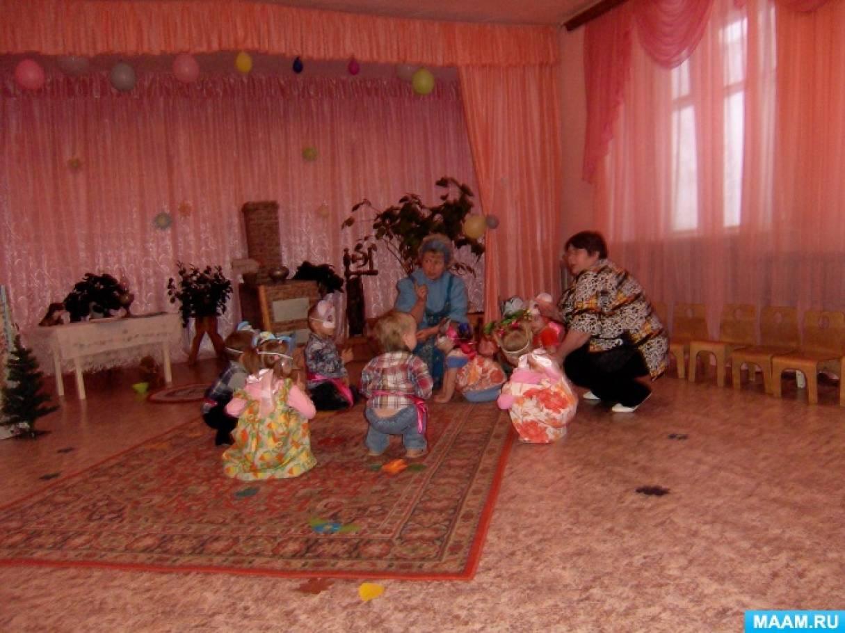 знакомим дошкольников с русской культурой