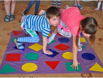 Дидактическая игра «Волшебный коврик»
