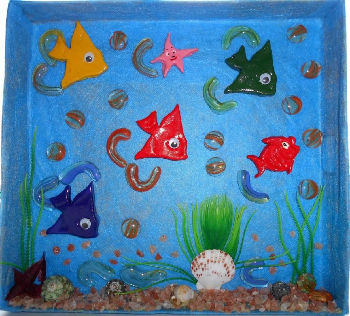 Развивающий аквариум своими руками