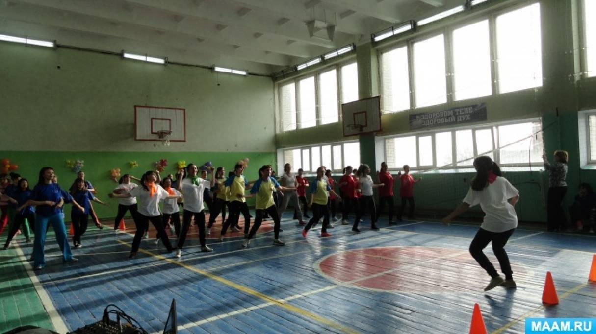 Спортивно-музыкальный праздник «А ну-ка, девушки» среди педагогов детских садов и учителей. Фотоотчет о мероприятии